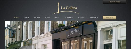 Modika web designers software developers online for La collina london