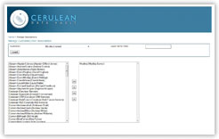 Cerulean DataVault Application User Association