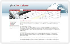 Global Brand Alliance Service Page