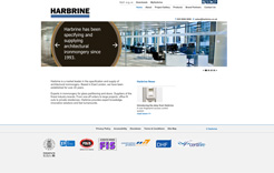 Harbrine Homepage