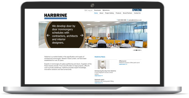 Harbrine Website